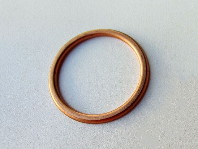 Norton exhaust pipe sealing washer copper