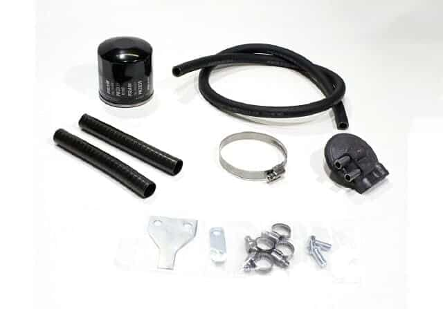 Norton oil filter & pipes kit