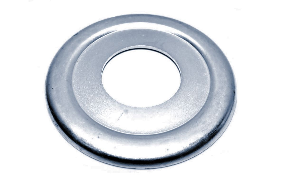 Norton steering head bearing cover