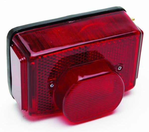 Replica Lucas tail light assembly, square