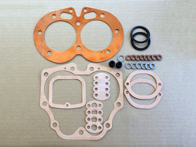 066093C Norton Commando 850 decoke gasket set with copper HG