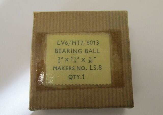 BSA ball bearing