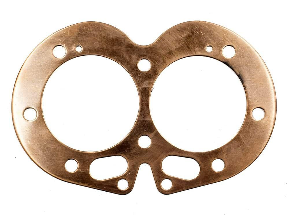 Norton Commando 850 cylinder head gasket, copper