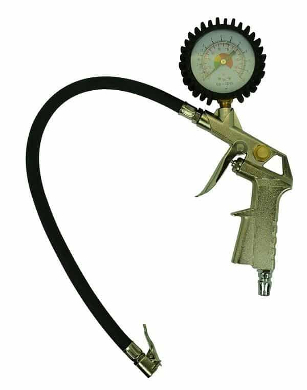 Tyre Inflator with Gauge -