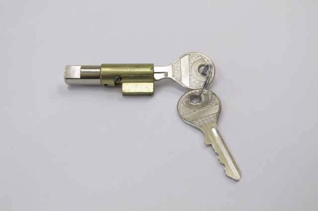 Nieman steering lock and keys, Triumph (to 1967)
