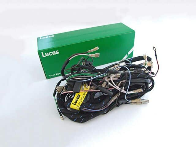 991260 Lucas wiring harness, Triumph T150V 1973-75
