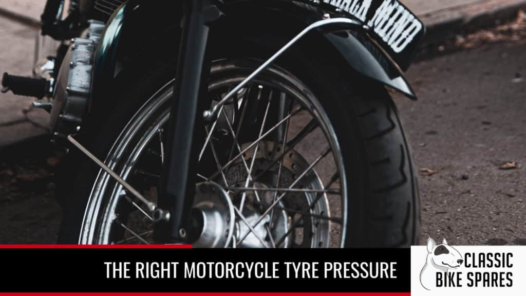 setting the right motorcycle tyre pressure