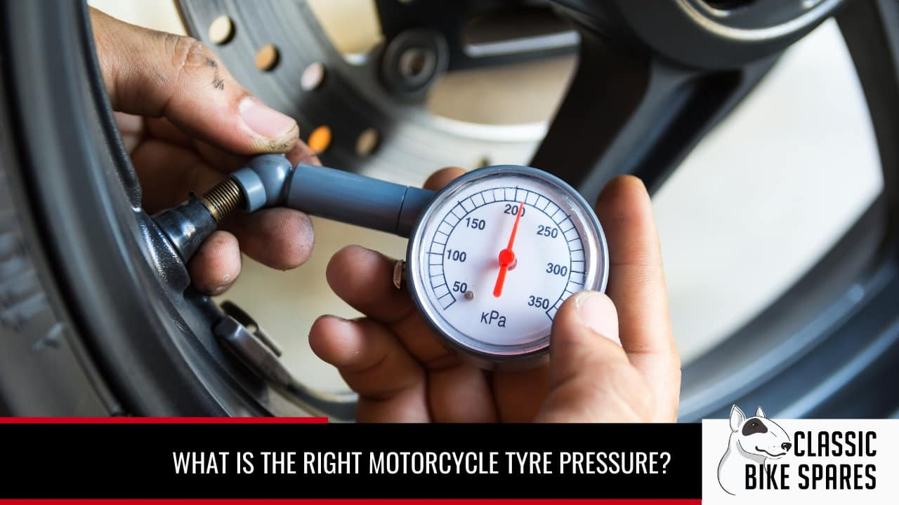 what the right motorcycle tyre pressure