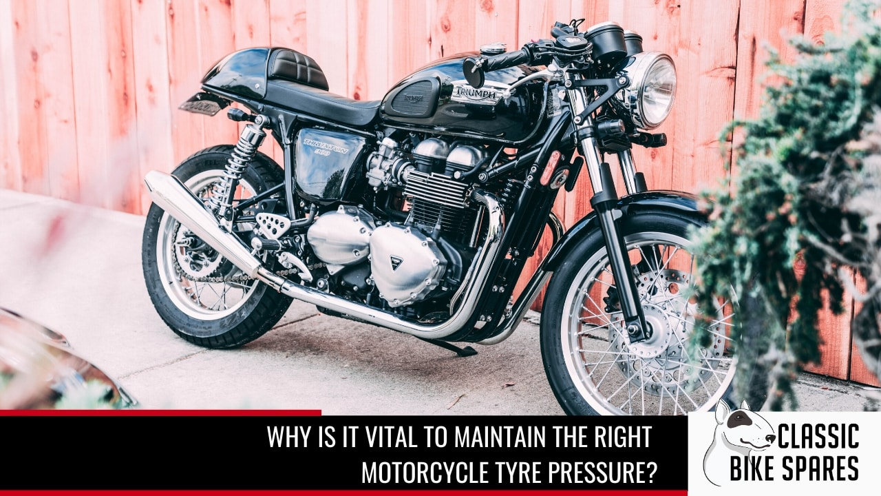 why the right motorcycle pressure is important